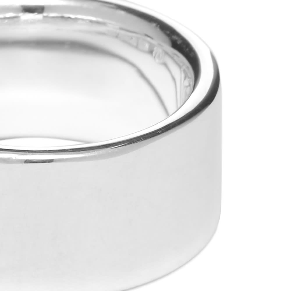 All Blues Tire Ring - Silver