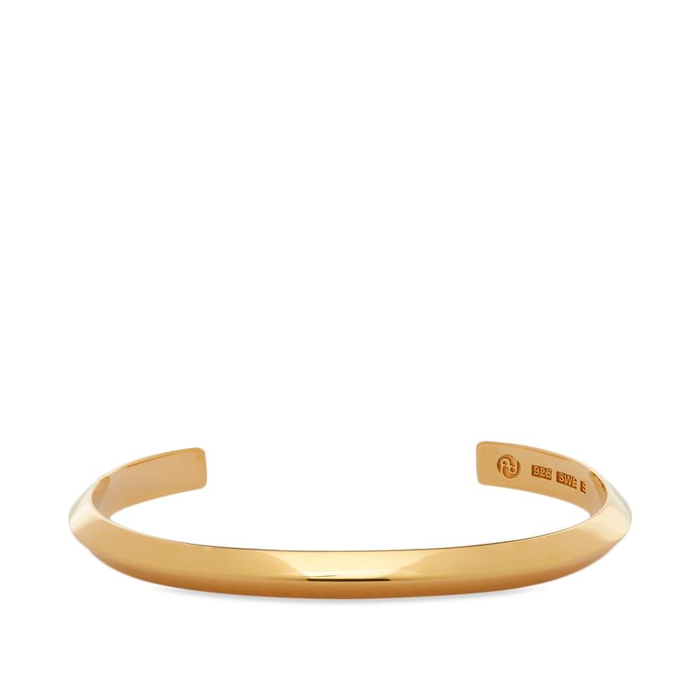 All Blues Triangle Bracelet - Gold