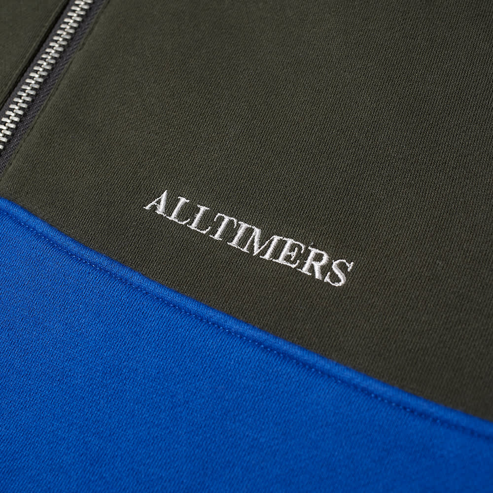 Alltimers Struck Half Zip - Green Blue