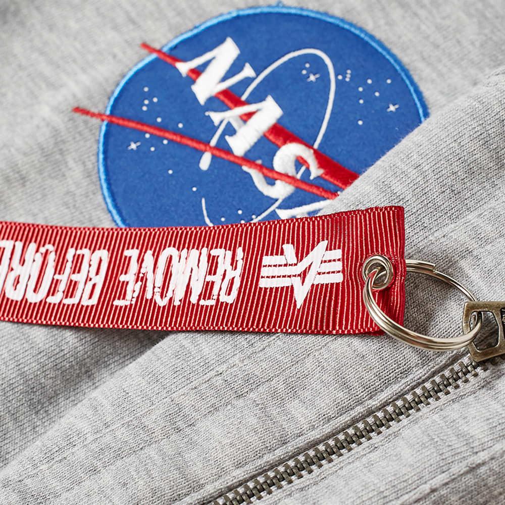 Alpha Industries NASA Heavy Tee - Heather Grey