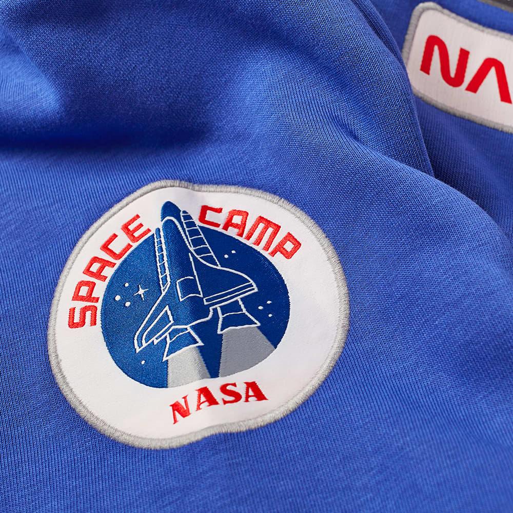 Alpha Industries Space Camp Crew Sweat - Nautical Blue