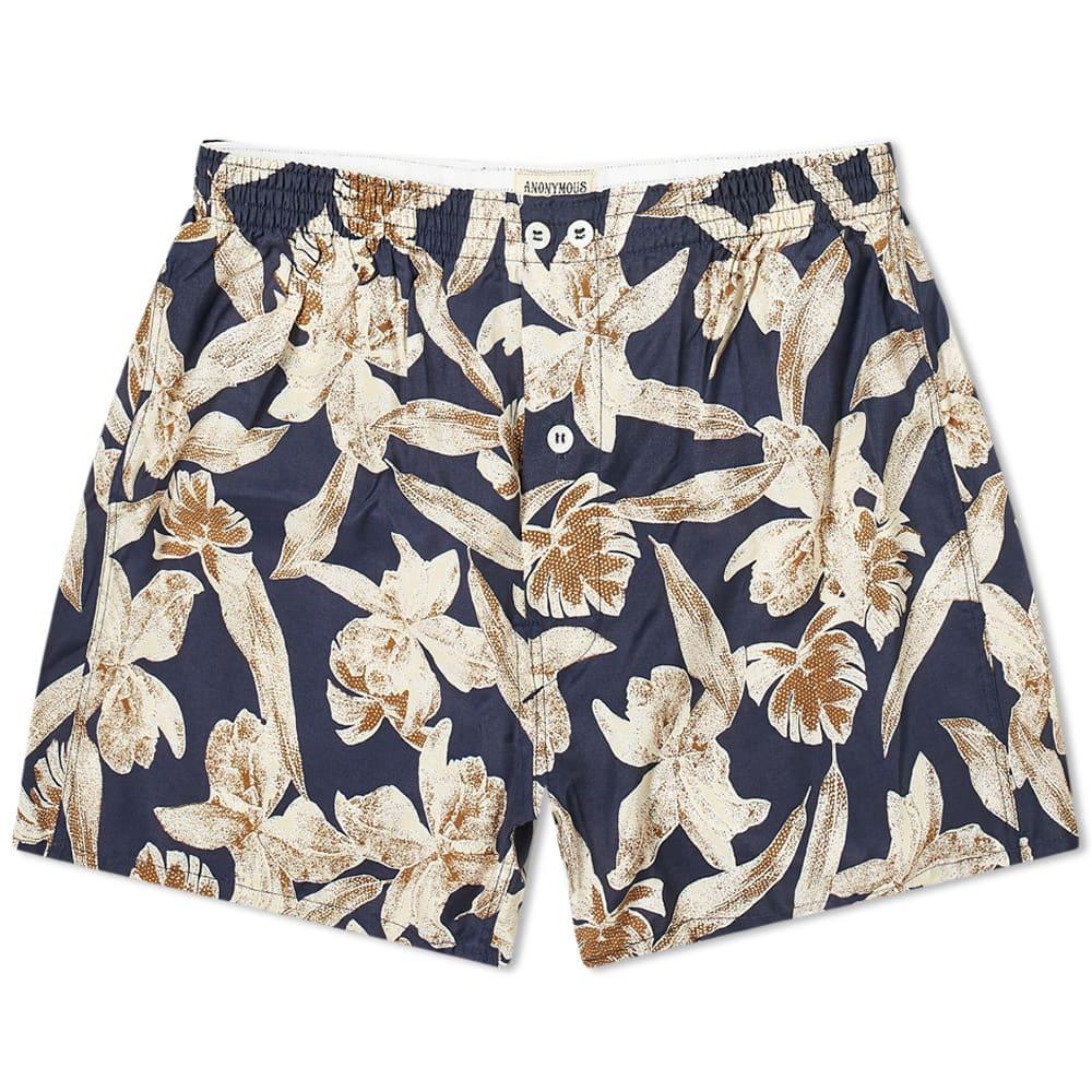 Anonymous Ism Floral Boxer Short - Multi