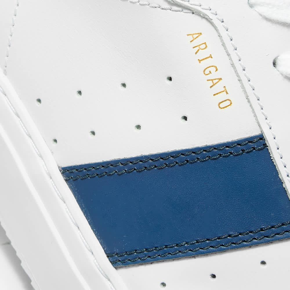 Axel Arigato Dunk Sneaker - White & Blue Leather