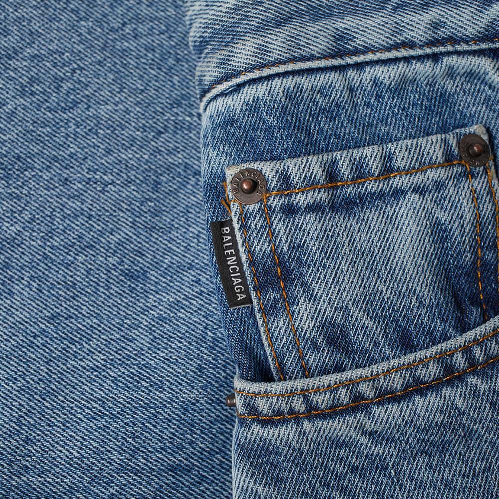 Balenciaga Vintage Boot Cut Jean - Vintage Indigo