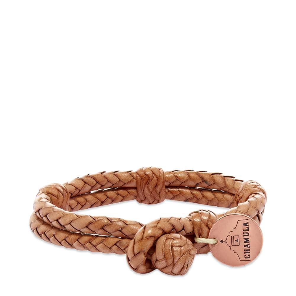 Chamula Double Round Bracelet - Tan