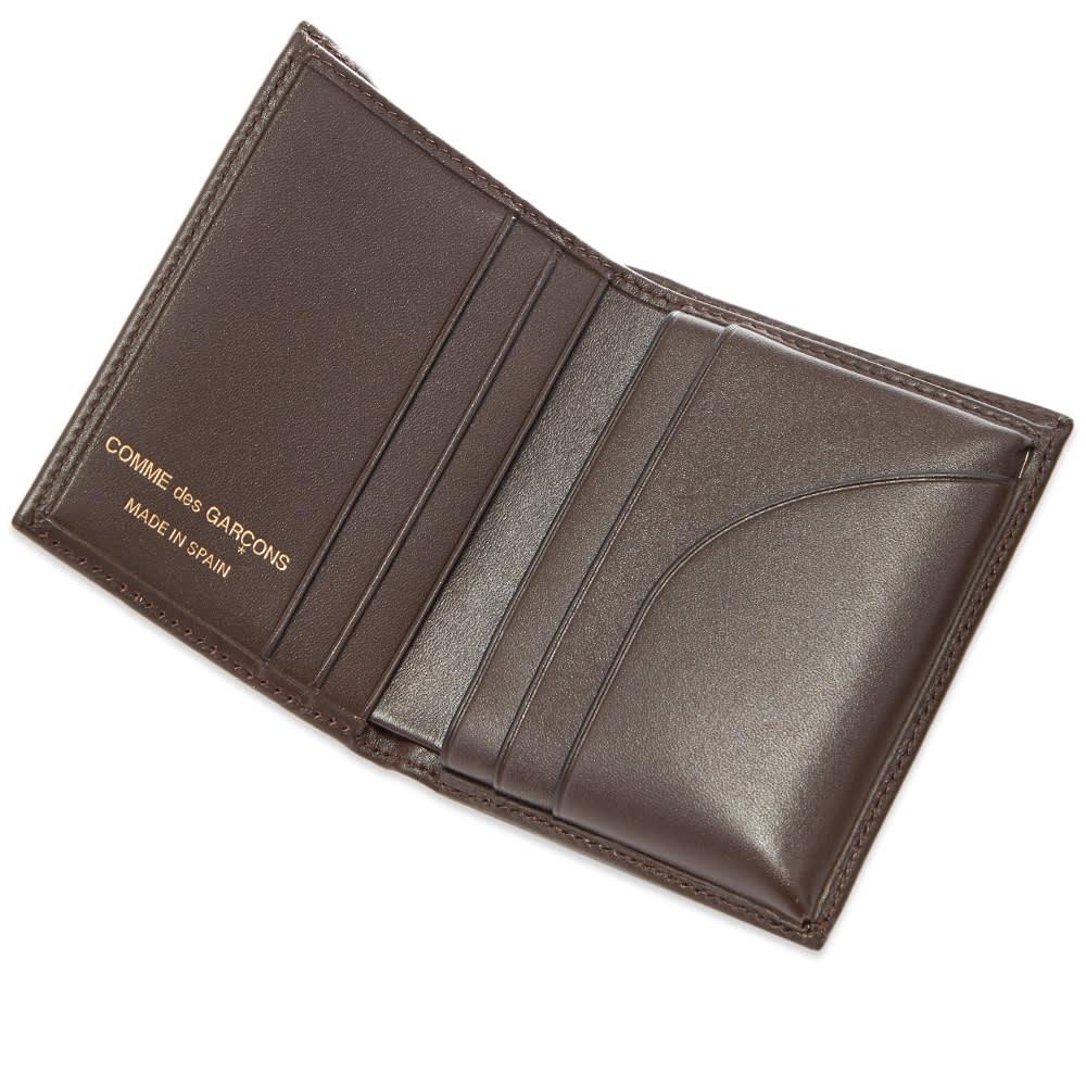 Comme des Garcons SA0641 Classic Wallet - Brown