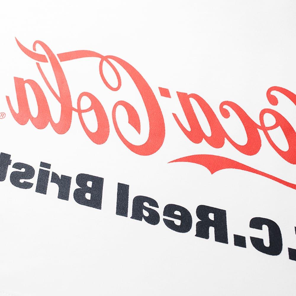 F.C. Real Bristol x Coca-Cola Mirror Logo Hoody - White