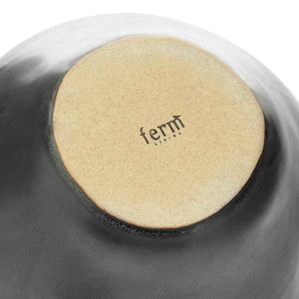 Ferm Living Flow Bowl Medium - Black