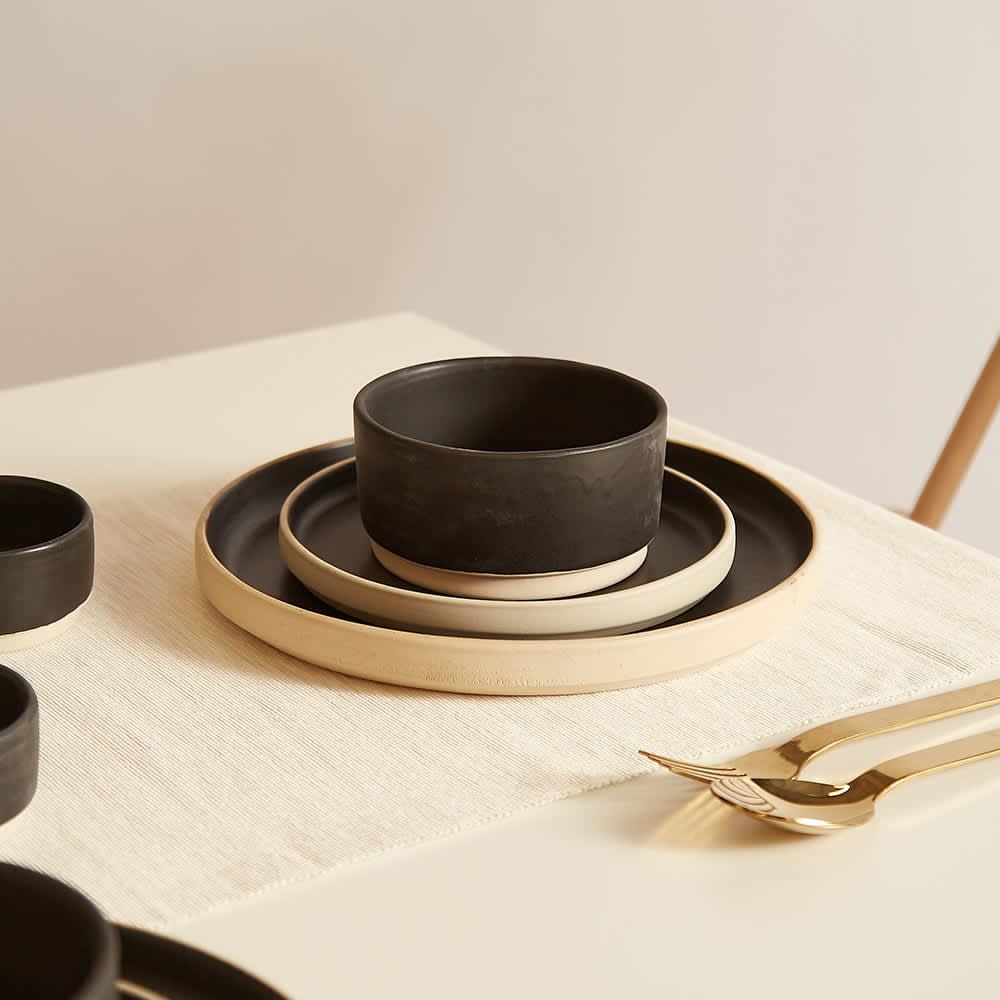 Frama Medium Otto Bowl - Set Of 2 - Black
