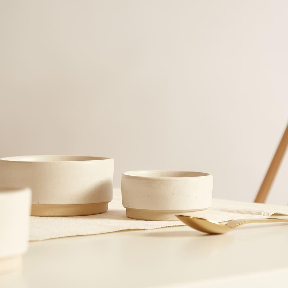 Frama Small Otto Bowl - Set Of 2 - White