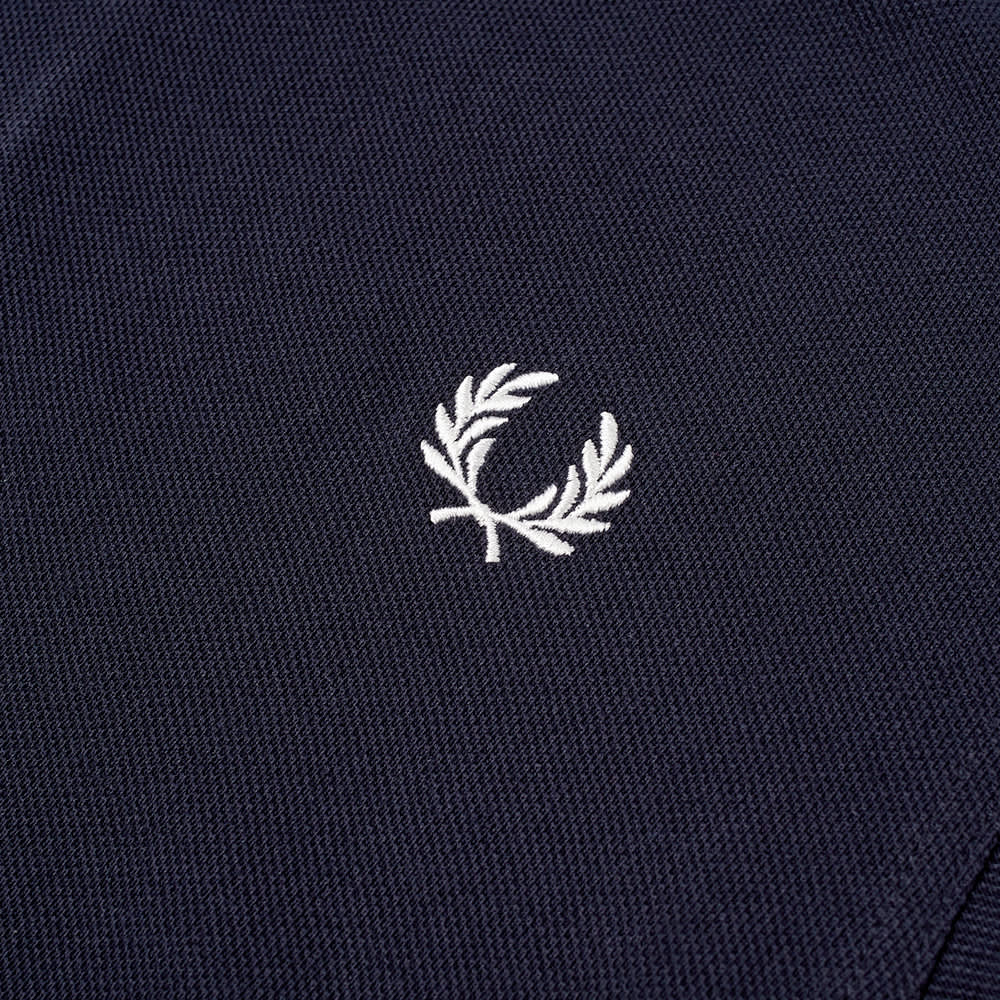 Fred Perry Block Tipped Collar Polo - Navy