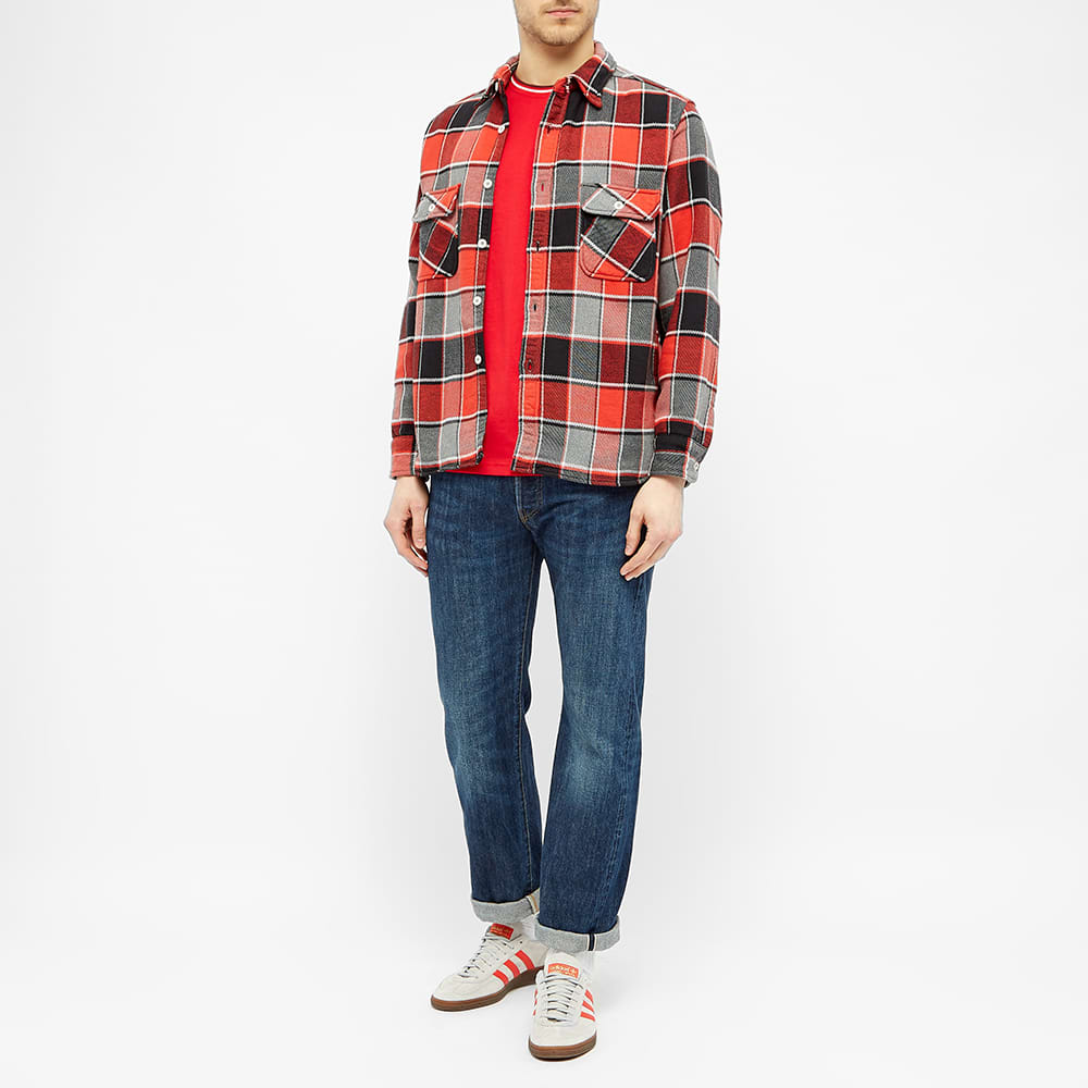 Fred Perry Twin Tipped Tee - Jester Red