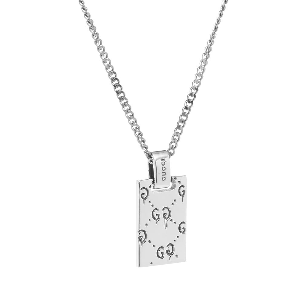 Gucci Ghost Necklace - Aged Sterling Silver