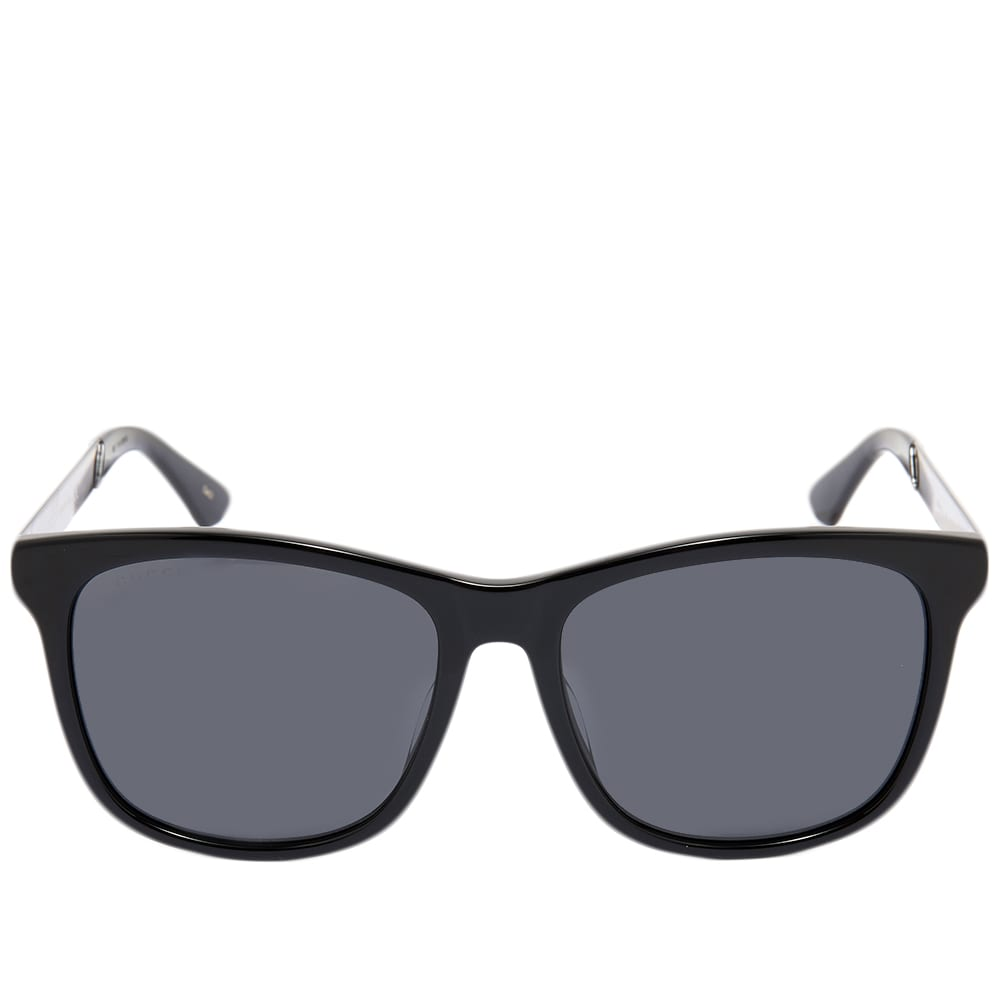 Gucci sporty web sunglasses black grey end - Black and grey house ...