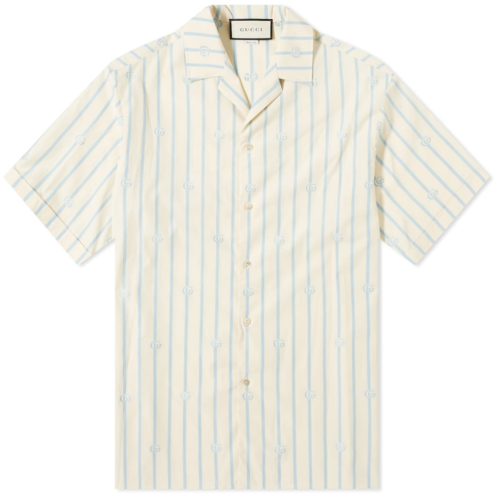 Gucci Striped 'GG' Vacation Shirt