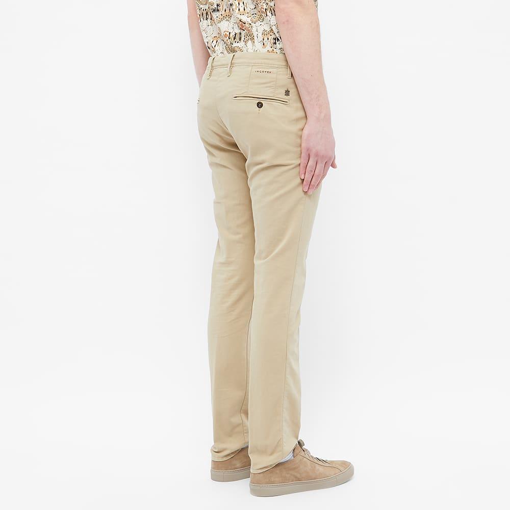 Incotex Skinny Fit Summer Uniform Chino - Stone