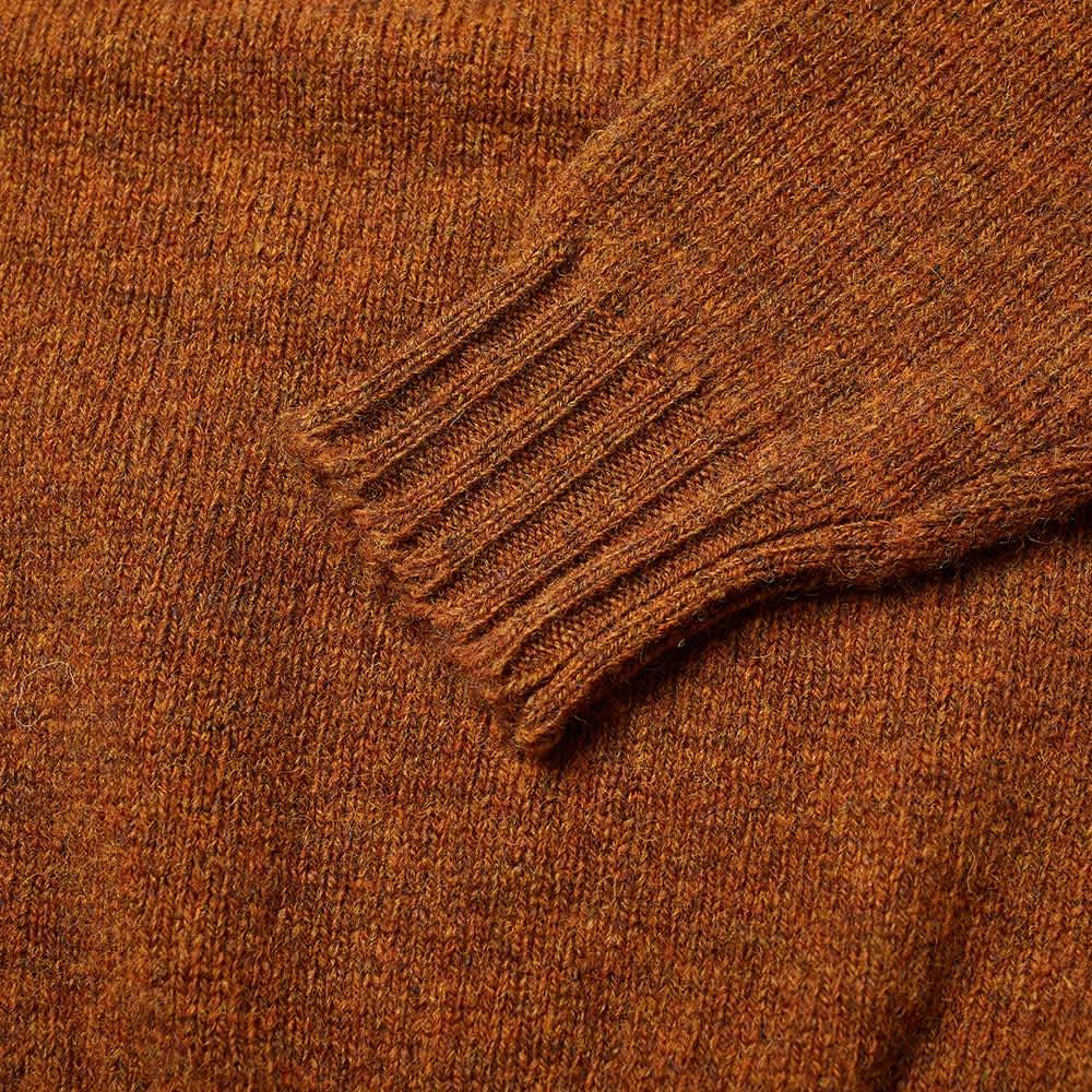 Jamieson's of Shetland Crew Knit - Burnt Umber