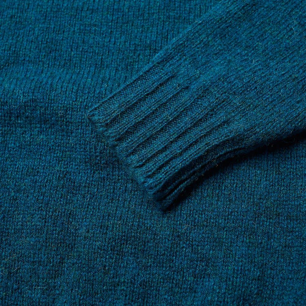 Jamieson's of Shetland Crew Knit - Nighthawk