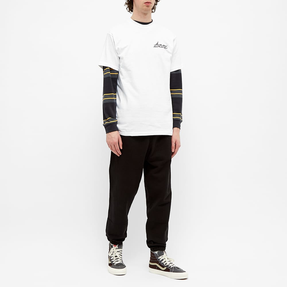 Know Wave Signature Tee - White