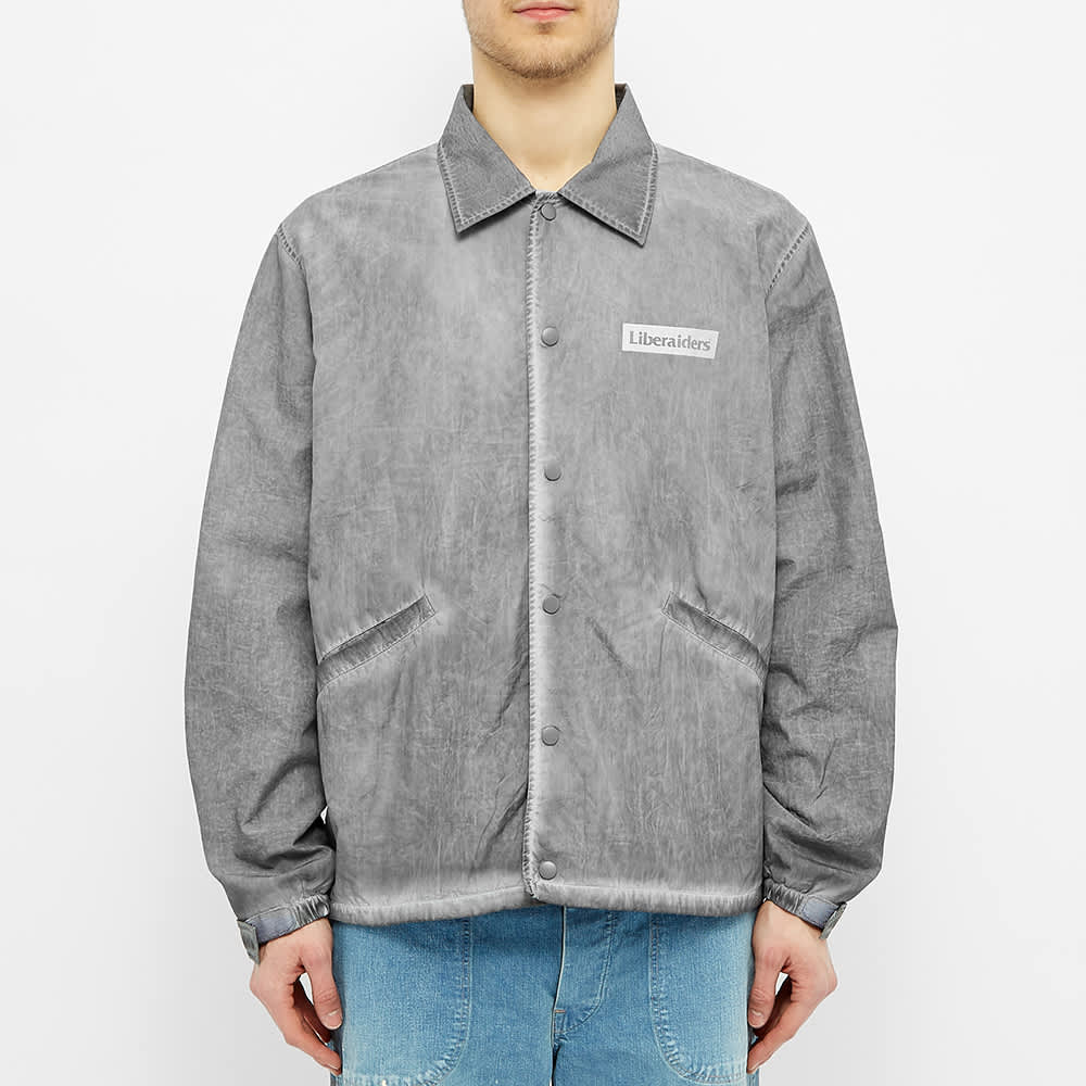 Liberaiders Overdyed Victory Coach Jacket - Black