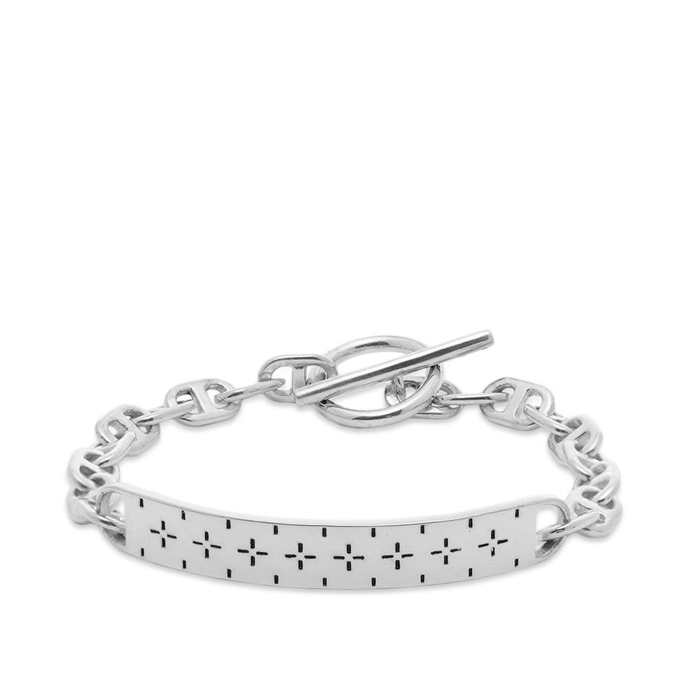 Maple Bandana ID Bracelet - Silver