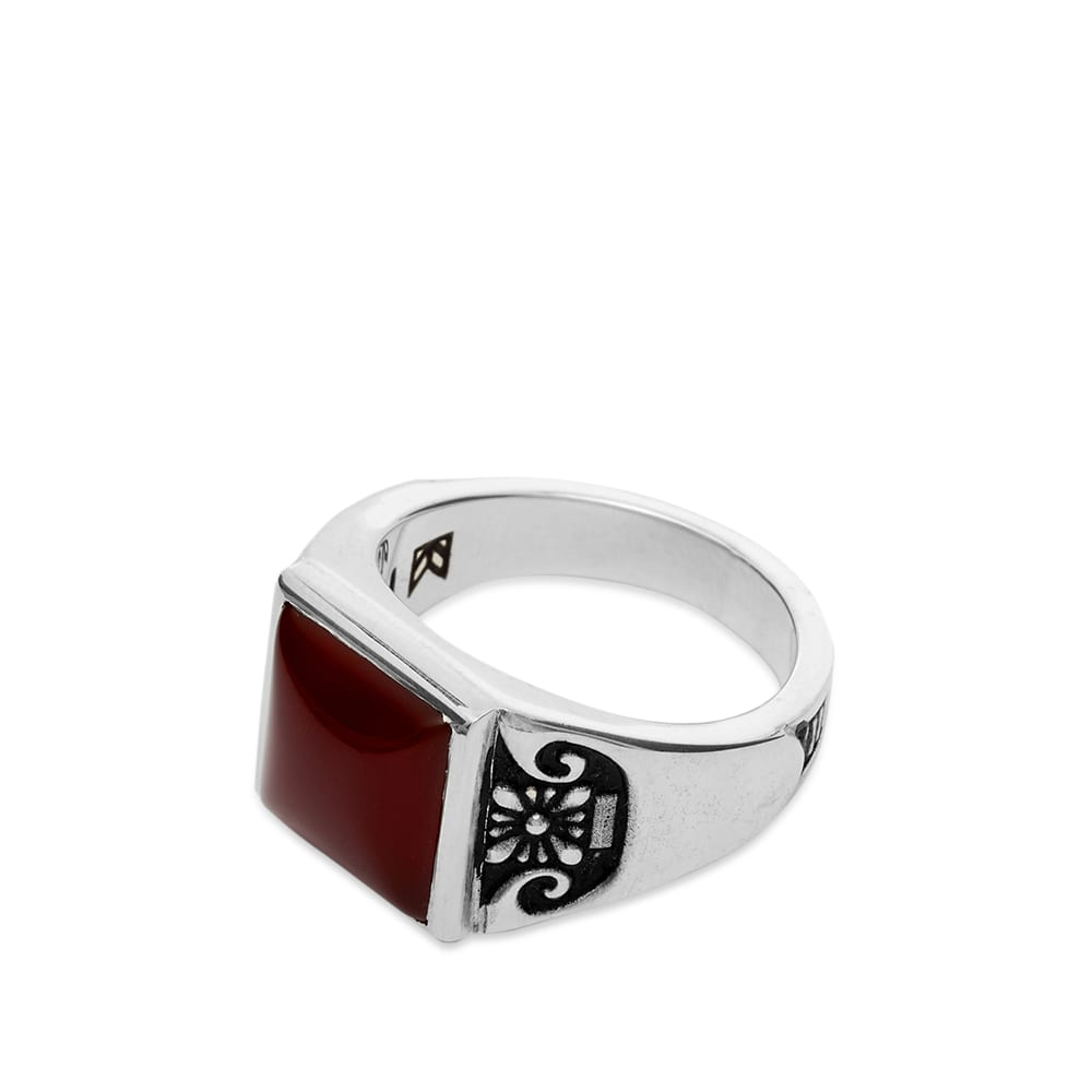 Maple Collegiate Ring - Silver
