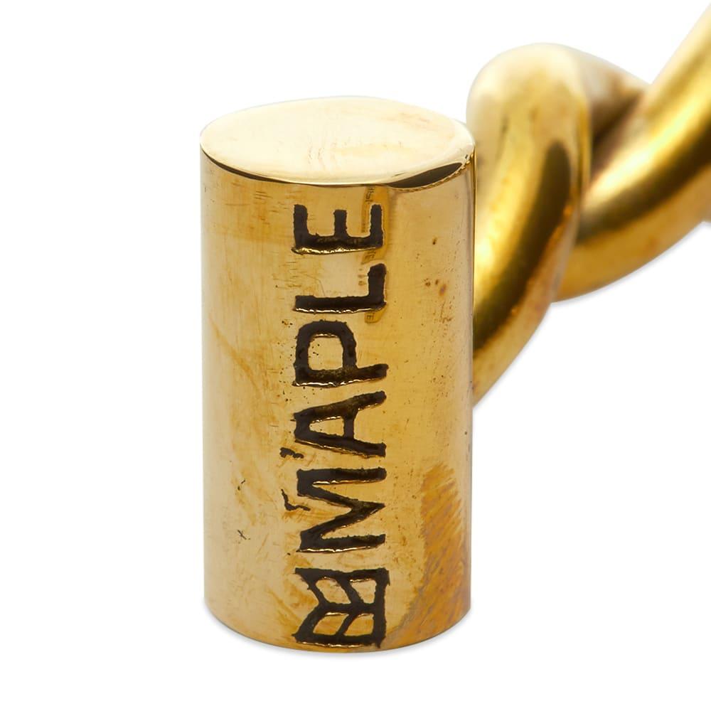 Maple House Bangle - Brass