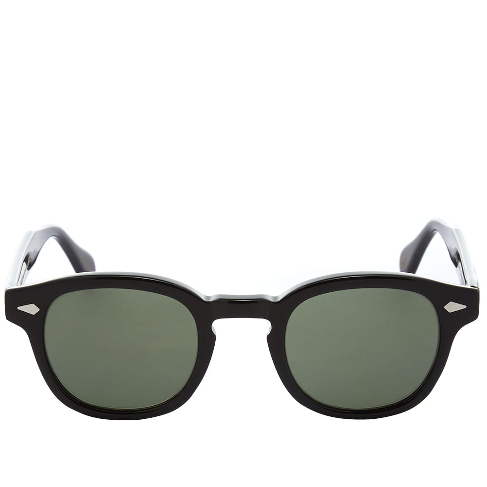 Moscot Lemtosh Sunglasses - Black & G15