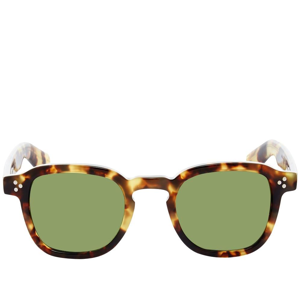 Moscot Momza Sunglasses - Green & Tortoise