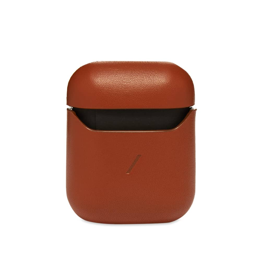 Native Union Airpods Classic Leather Case - Tan