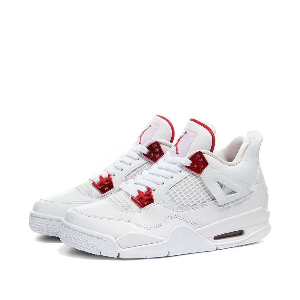 Air Jordan 4 Retro GS White