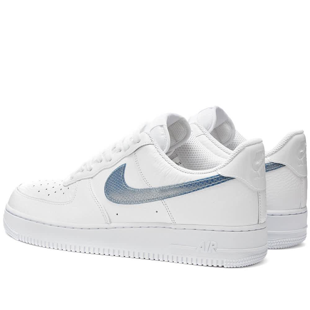 Nike Air Force 1 Gel White \u0026 Dark