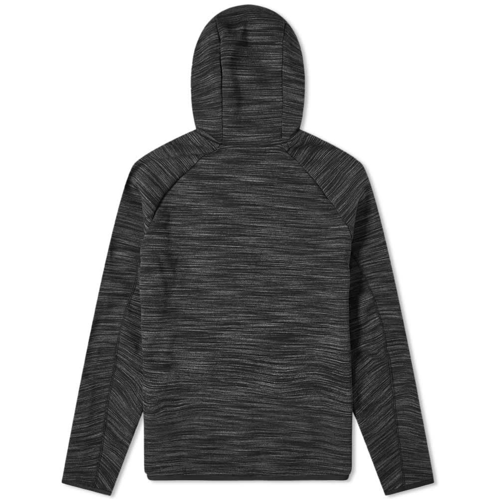 Nike Tech Fleece Hoody - Black & Dark Grey