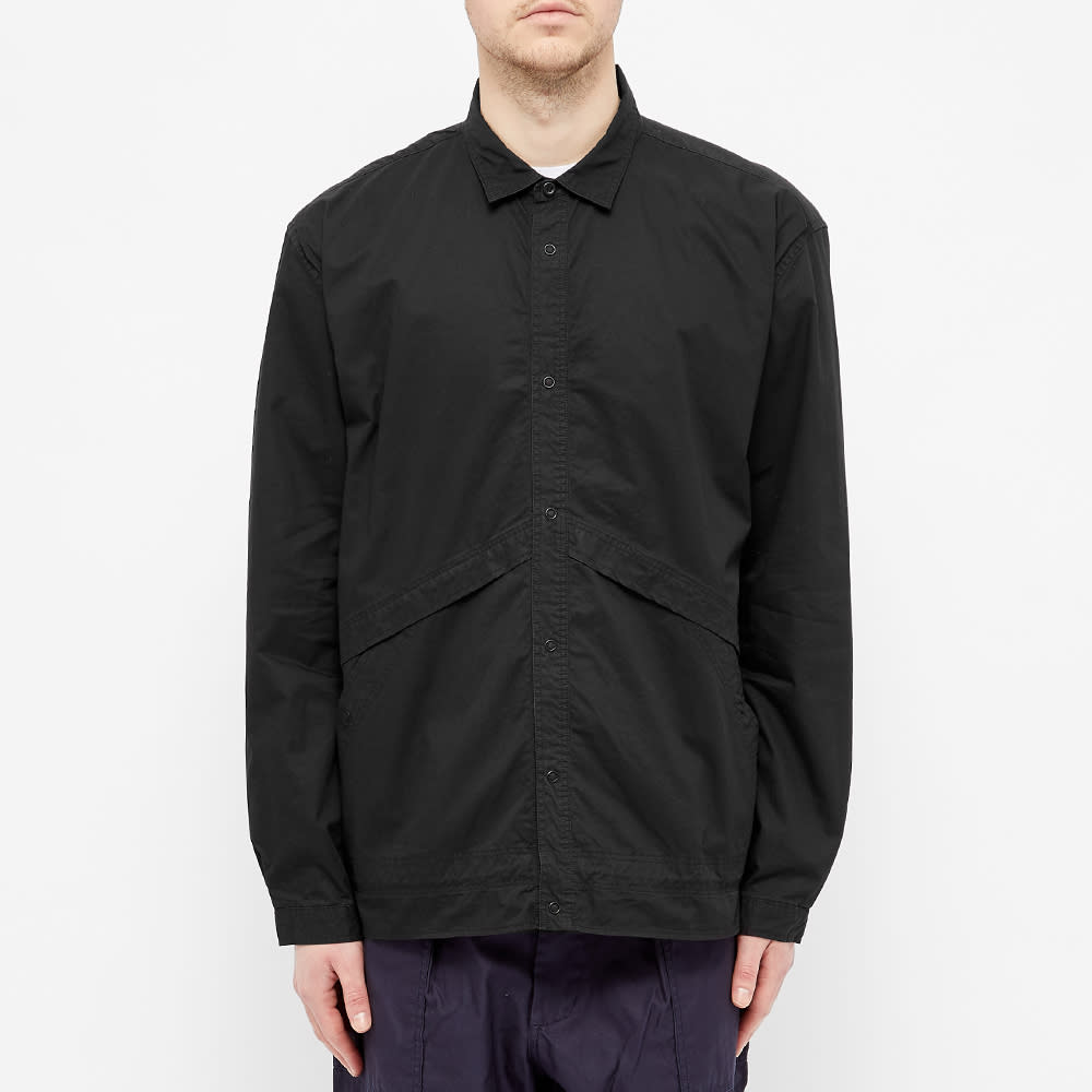 Nonnative Coach Shirt Jacket - Black