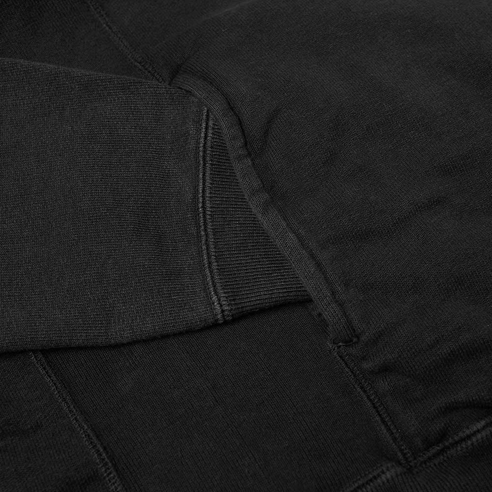 Nonnative Dweller Half Zip Hoody - Black