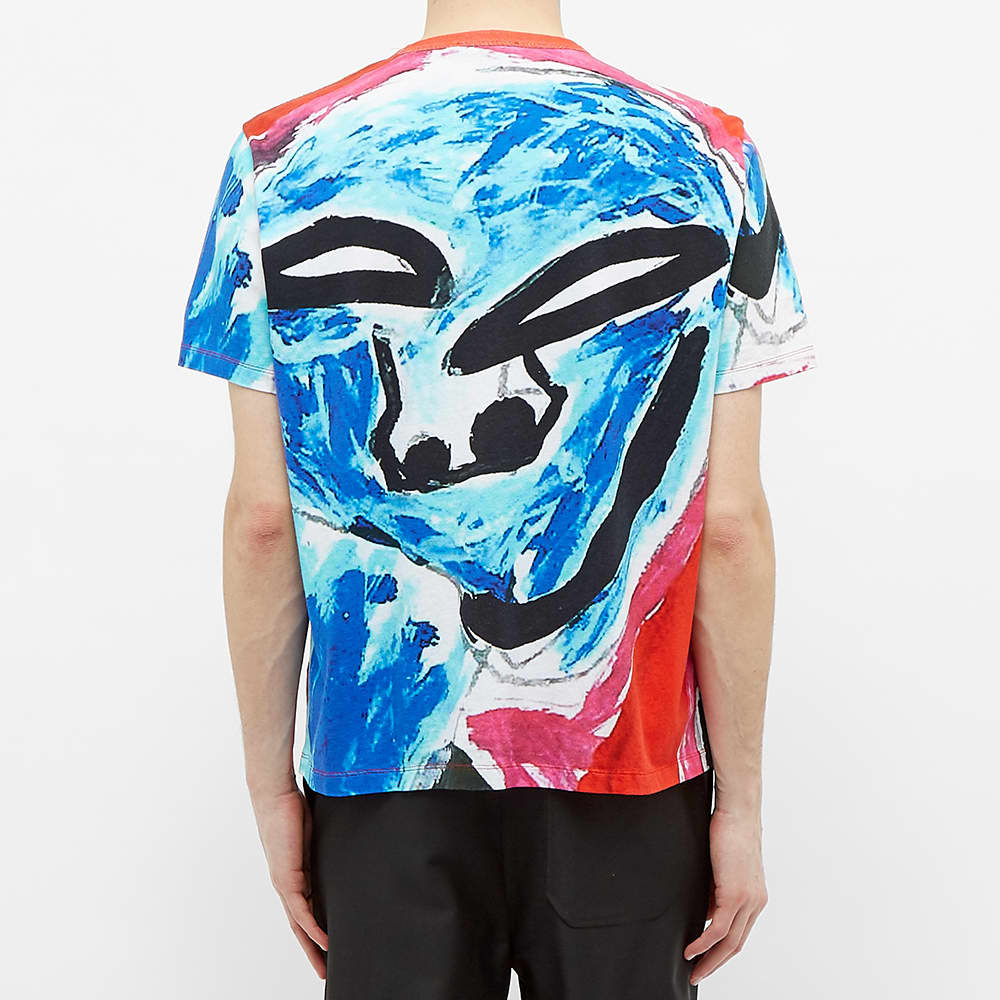 Our Legacy New Box Tee - Voodoo Face Print