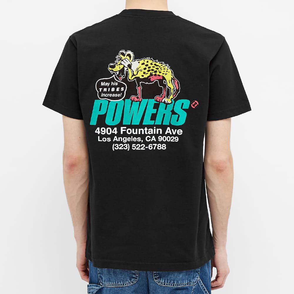 POWERS Hyena Shop Tee - Black