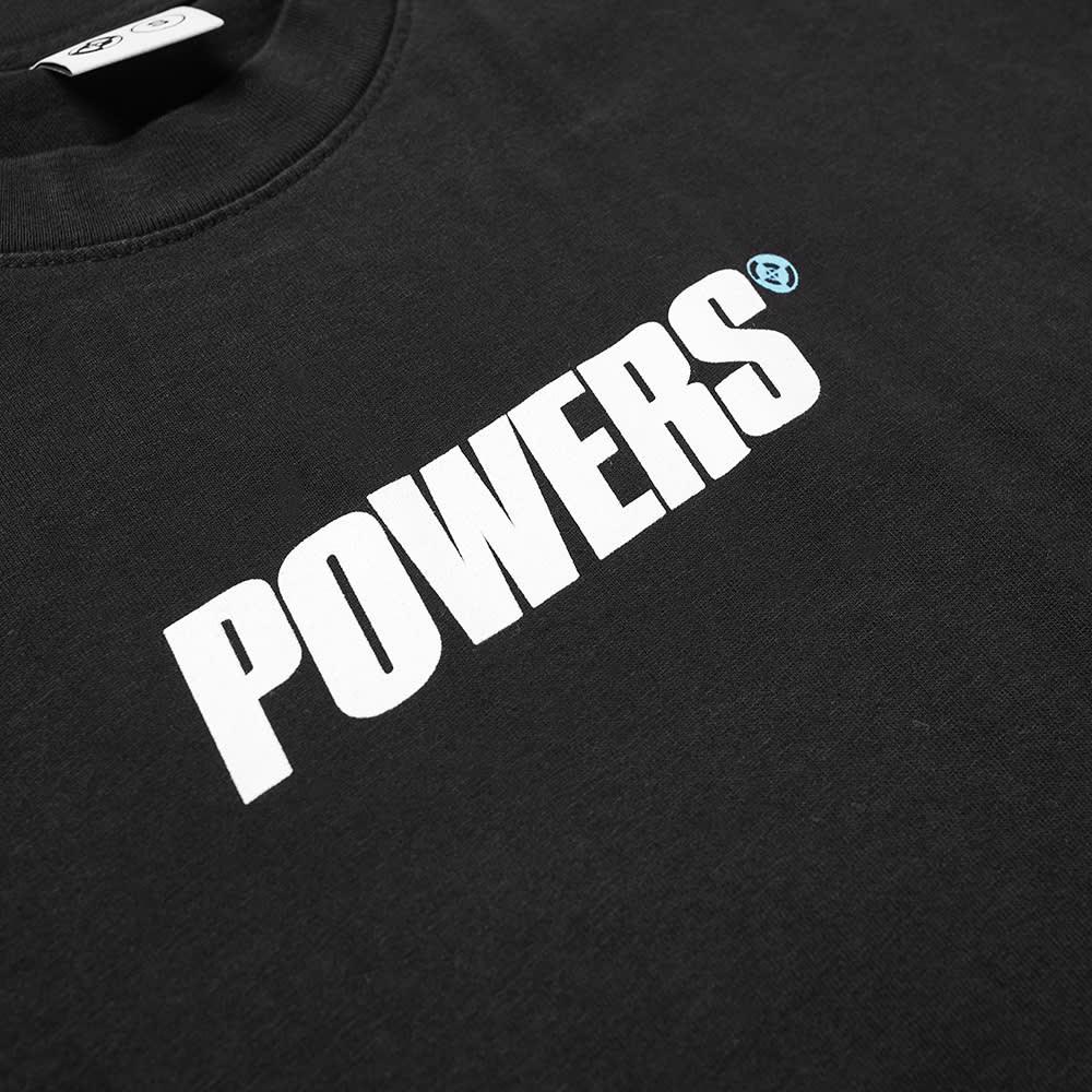 POWERS Logo Tee - Black