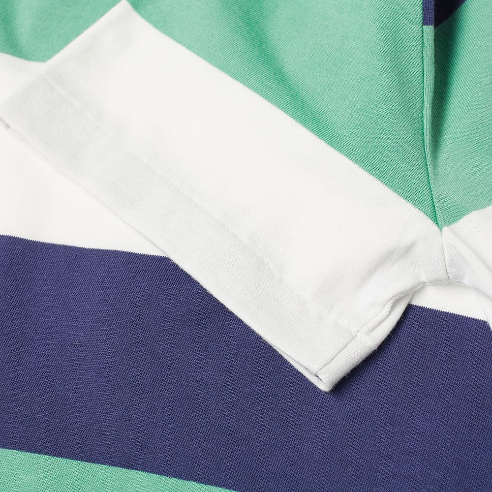 Polo Ralph Lauren Broad Multi Stripe Tee - Haven Green Multi