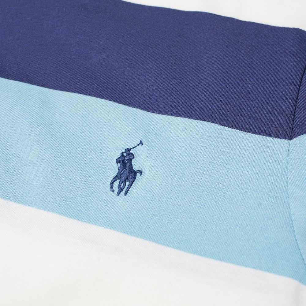 Polo Ralph Lauren Broad Multi Stripe Tee - Powder Blue Multi