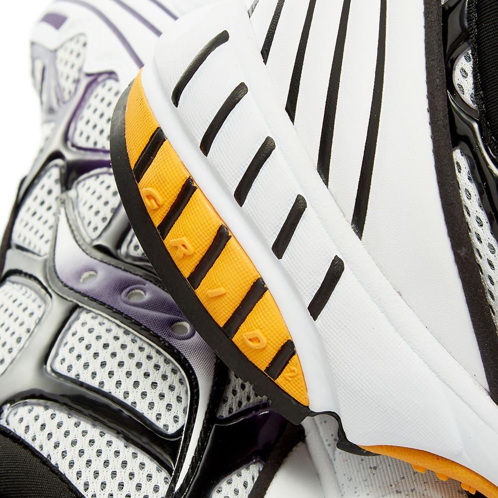 Saucony Grid Web - White, Purple & Yellow