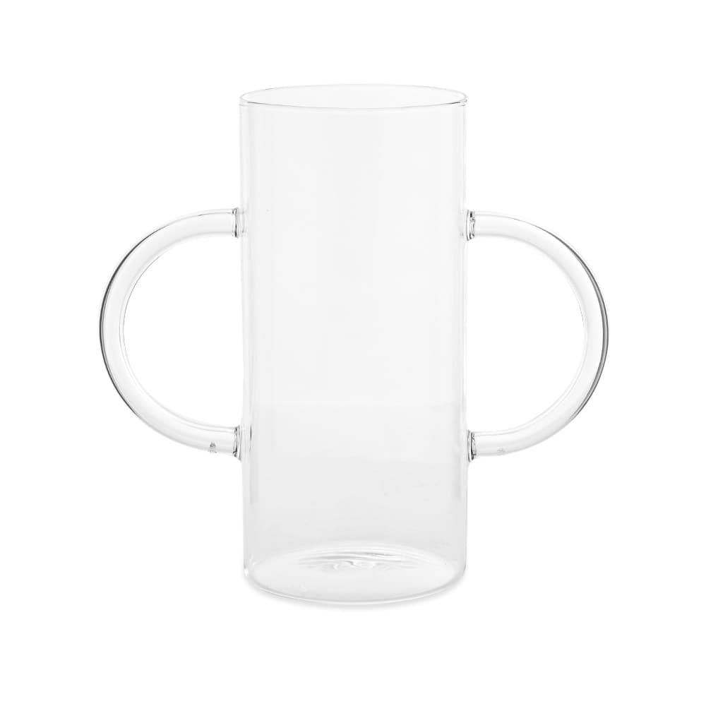Sophie Lou Jacobsen Handle Vase - Clear & Clear