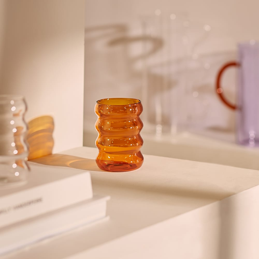 Sophie Lou Jacobsen Ripple Cup - Amber