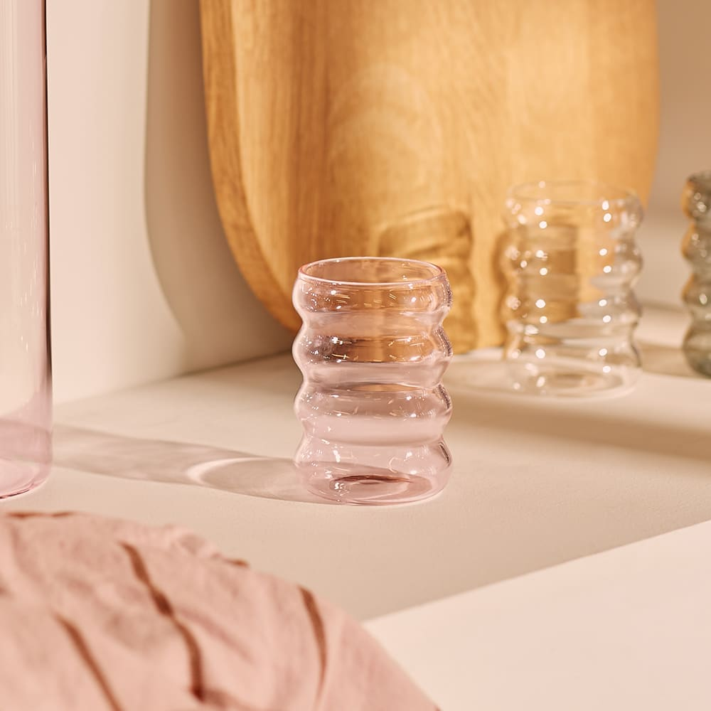 Sophie Lou Jacobsen Ripple Cup - Pink