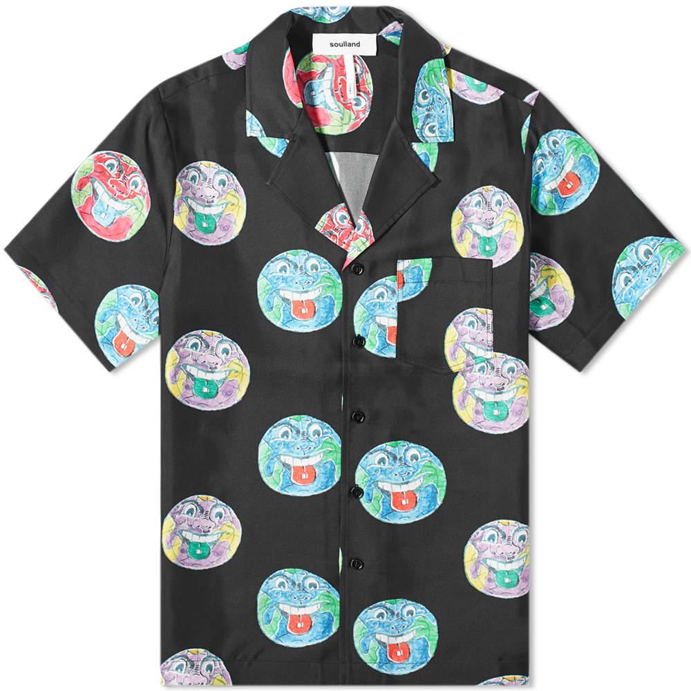 Soulland Orson Silk Vacation Shirt