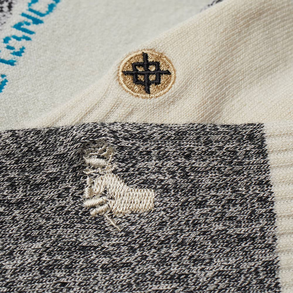 Stance Neapolitan Sock - Black