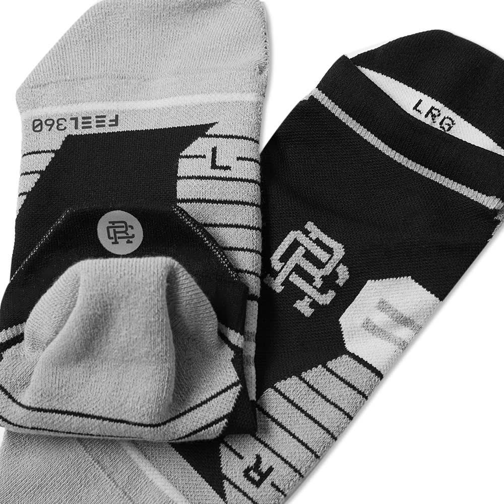 Stance x Reigning Champ Run Tab Socks - Black