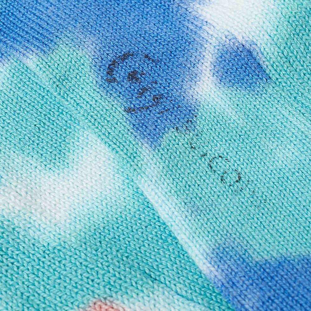 Suicoke x Corgi LUTEX Tie Dye Sock - Turquoise