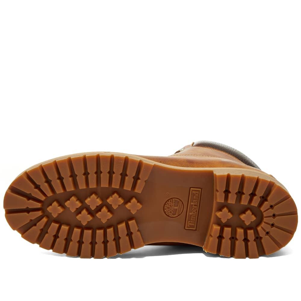 "Timberland Heritage 6"" Premium Boot - Medium Brown Nubuck"