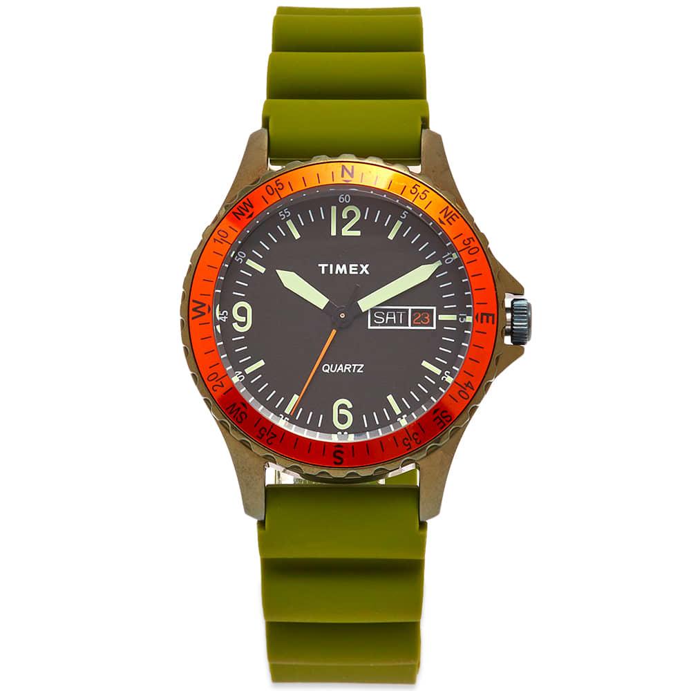Timex Archive Navi Land - Green, Orange & Black